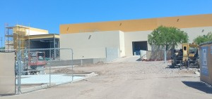 Work is expected to continue into August on the expansion of the Las Cruces Convention Center, 680 E. University Ave. (Bulletin photo by Mike Cook)
